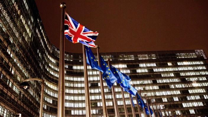Brexit-Diskussion in Brüssel vor dem EU-Gipfel