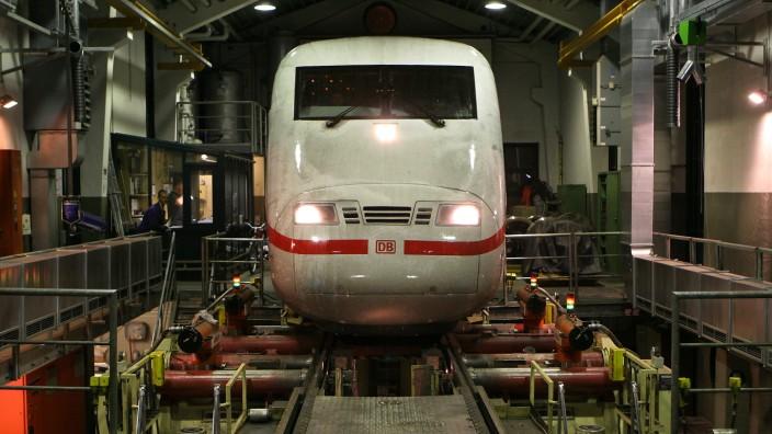Reisezugwagenwerk in Pasing, 2006