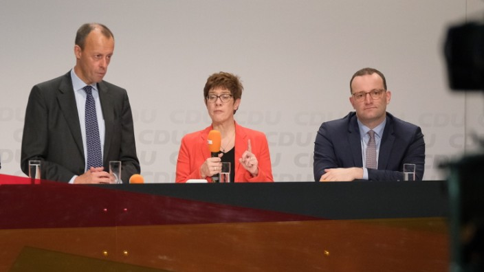 CDU Candidates Campaign In Halle