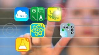 Themenfoto mit App Icons zu Neue Medien Fotomontage vom 08 04 16 Neue Medien Copyright epd bild