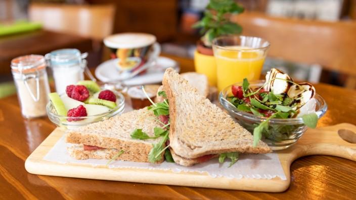 Das Frühstückscafé DaMe in der Kohlstraße 11 am 16.11.2018.