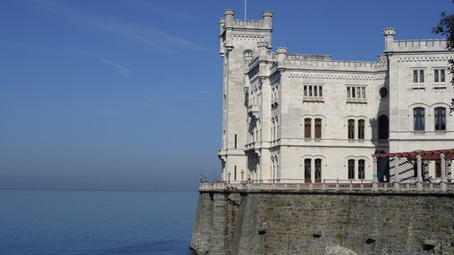 Schloss Miramara bei Triest