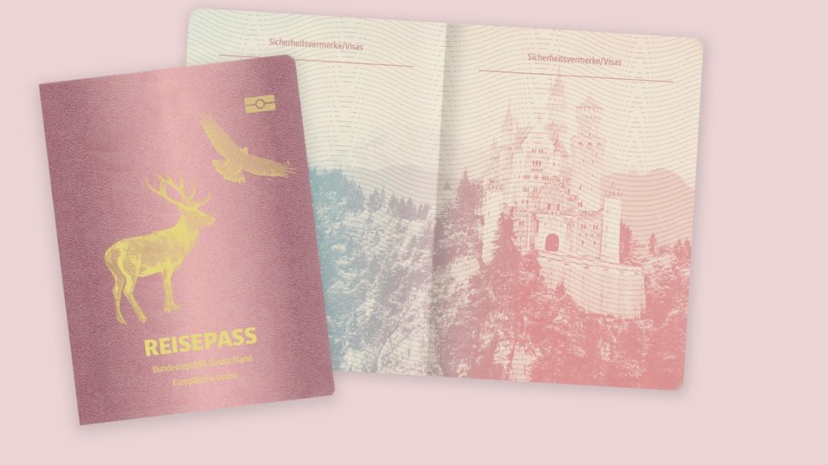 So entsteht ein Reisepass