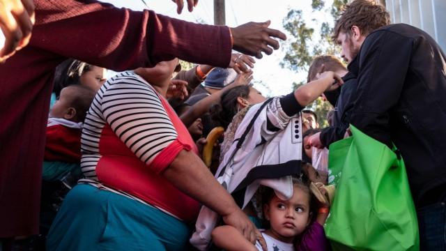 Politik Mexiko Migranten in Mexiko