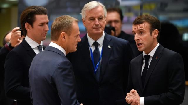 Politik Europäische Union Brexit-Sondergipfel