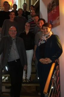 Wagenhofen Besuch der Bundestagsabgeordneten in Wagenhofen