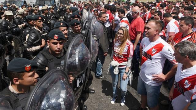 Internationaler Fußball Superclásico in Argentinien