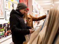 Kunstsupermarkt im Rosental 6 am 23.11.2018 in München.