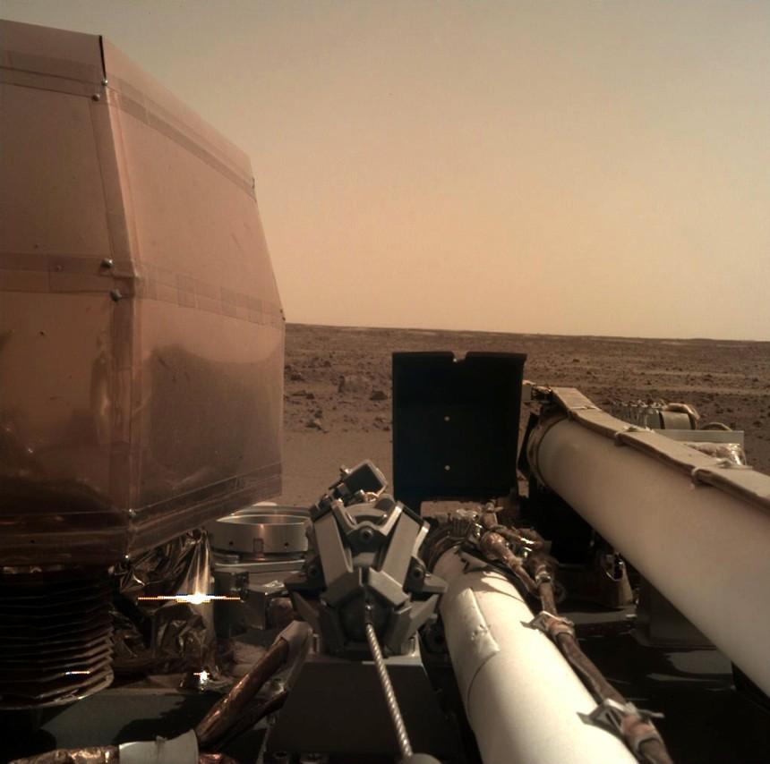 Es ist ein Gespräch über den Mars.