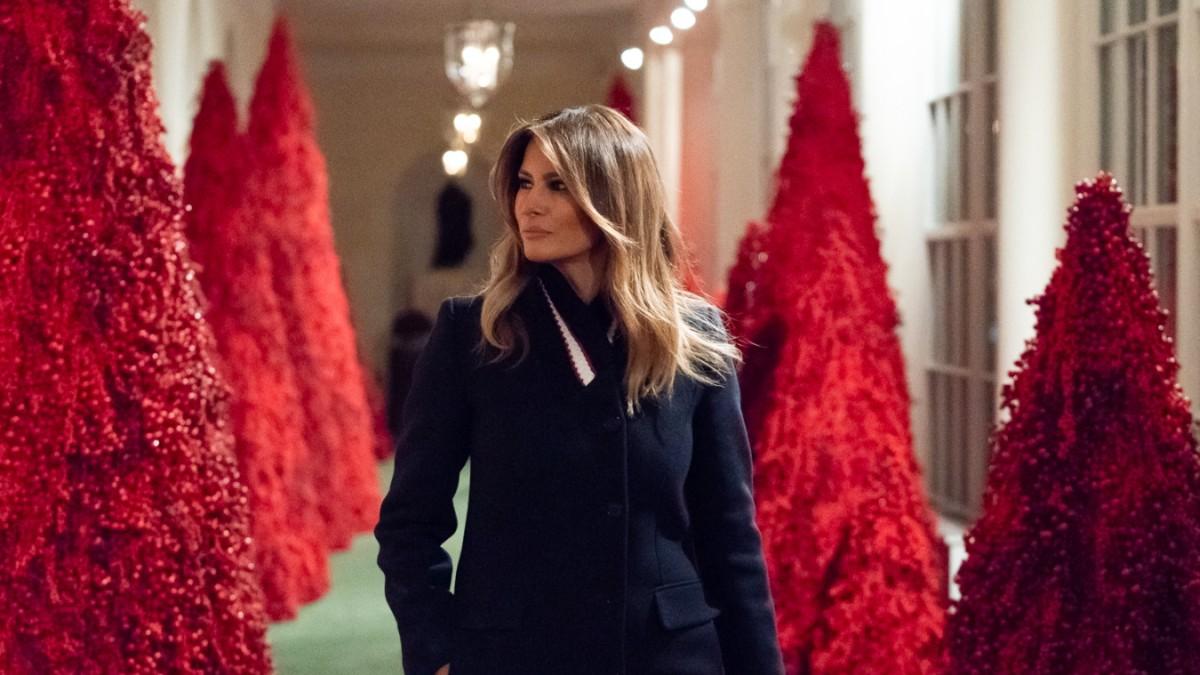 Weihnachtsdeko Laden Berlin.Weißes Haus Melania Trumps Horror Weihnachtsbäume Panorama