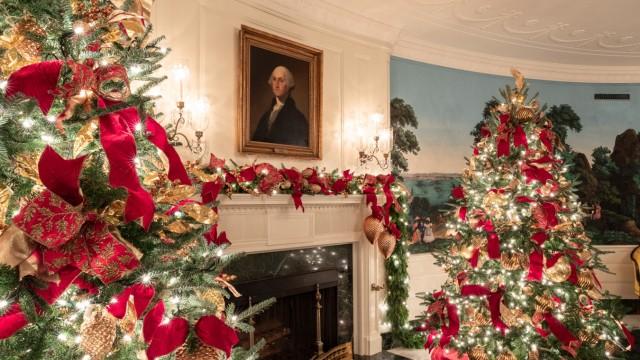 Promis Deko im Weißen Haus