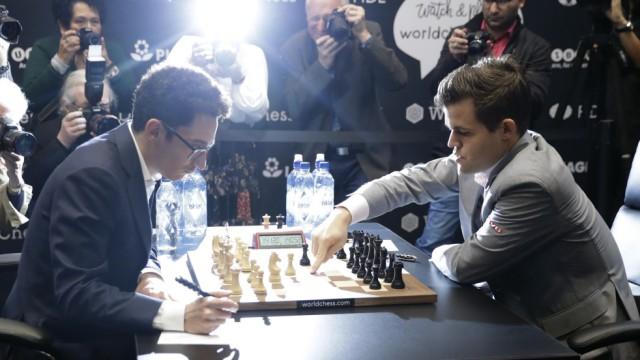 Schach-WM Carlsen gegen Caruana
