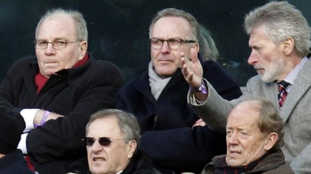 Ulli Hoeness, Karl-Heinz Rumenigge, Paul Breitner