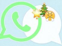 Whatsapp Weihnachts-WG