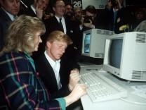 Boris Becker auf der CeBit