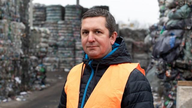 Betriebsleiter der Firma Remondis, Norman Schmiedchen, am 23.11.2018 in München.
