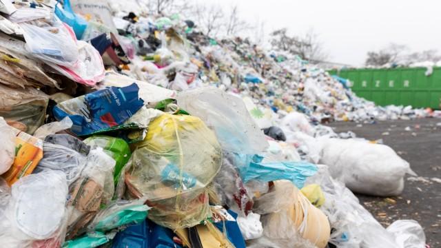 Plastikmüll Gelbe Tonne München