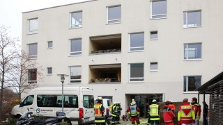 Feuerwehr bei der Lebenshilfe; Feueralarm bei der Lebenshilfe