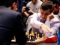 Magnus Carlsen bei der Schach-WM 2018