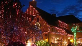 Amerikaner lieben ihr Christmas-Lichtermeer