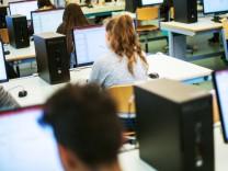 IT-Unterricht an einer Schule
