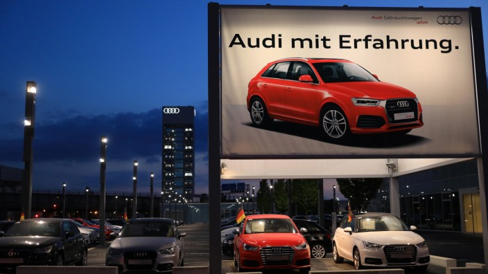 Audi AG Automobile Showroom As CEO Rupert Stadler Remains In Custody