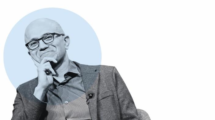 Naufnahme ET 30.11.2018, Microsoft CEO Satya Nadella