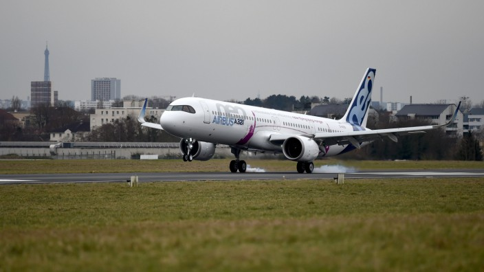 FRANCE-TRANSPORT-AVIATION-AIRBUS-A321-NEO-LR