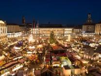 Eröffnung 584. Dresdner Striezelmarkt