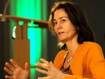 Katarina Barley bei Netzdiskussion in München, 2018