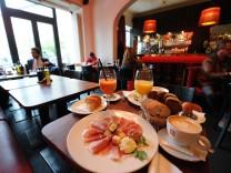Frühstücken im La Stanza im Lehel