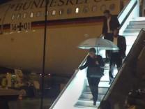 Merkel muss Flug zum G20 Gipfel abbrechen