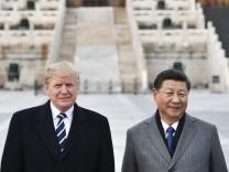 Trump Xi USA China Handel
