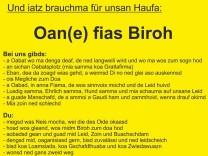 Eine Firma aus Niederbayern sucht mit einer Stellenanzeige auf Bairisch nach Fachkräften