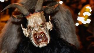 Salzburg Holds Nighttime Krampus Parade