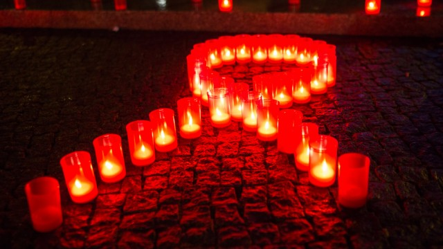 Vor dem Welt-Aids-Tag