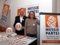 Michael Schröter führt die Messie-Partei