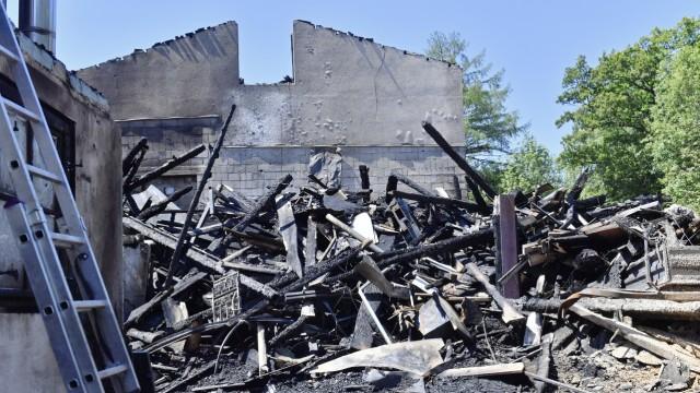 Manthal Handwerkerhof Feuer