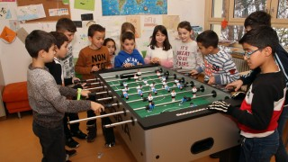 Spaß am Kickertisch; Arbeitskreis Ausländerkinder in Gauting