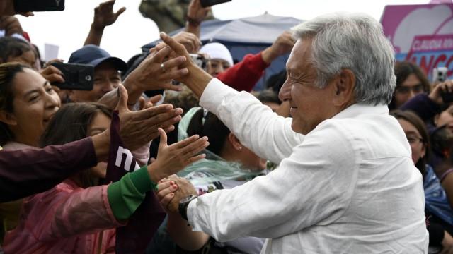 Politik Mexiko Andrés Manuel López Obrador