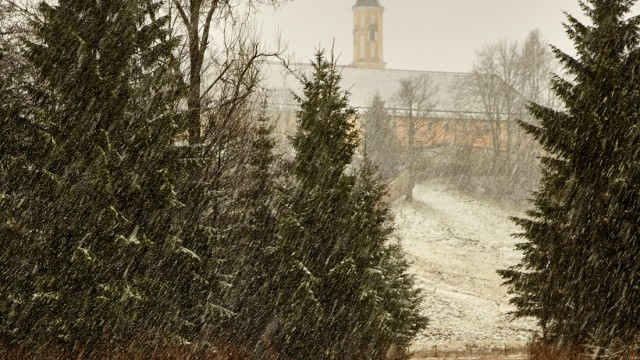 Schnee am Kirchsee