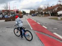 Radfahrerfurt in Gilching