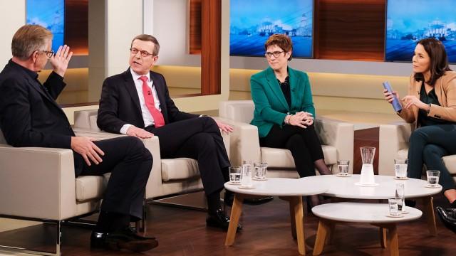 """""""Anne Will"""" zum Konflikt in der Ukraine"""