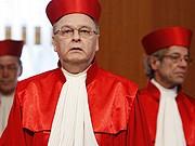 Hans-Jürgen Papier; Bundesverfassungsgericht, Voratsdatenspeicherung; Reuters