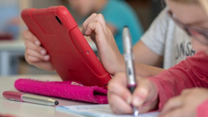 Schule - Digitaler Unterricht in Bayern