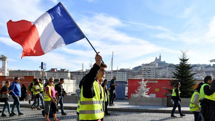 Frankreich Protest Gegen Die Arroganz Der Elite Politik