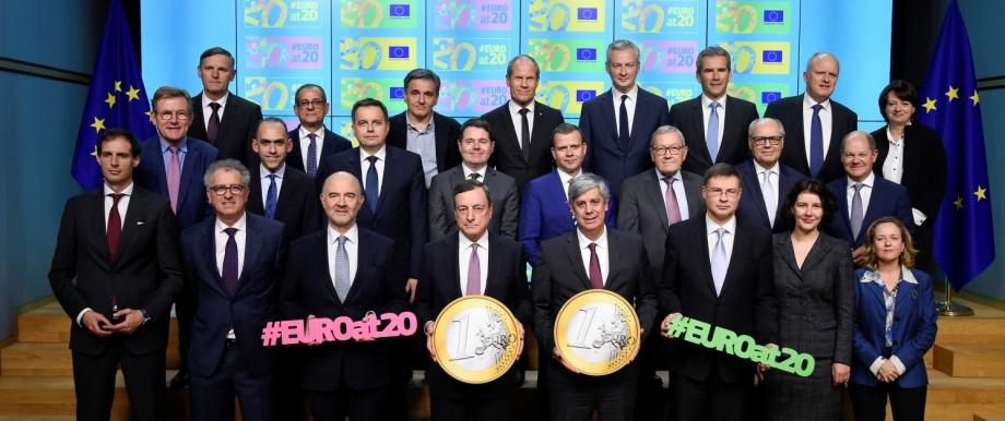 EU: Finanzminister der Eurozone in Brüssel
