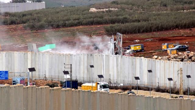 Politik Israel Grenze zwischen Israel und Libanon
