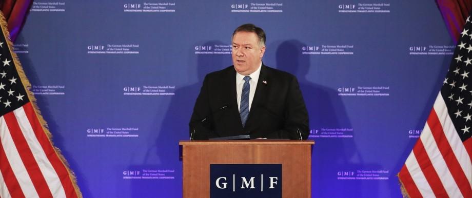 Politik USA Rede in Brüssel
