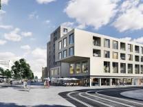 Pasing Central , Bauprojekt am Pasinger Bahnhof Pasing Arcaden